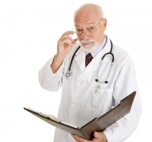 Serious Mature Male Doctor | Shutterstock.com